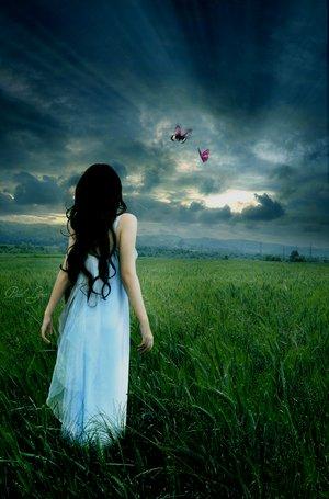 """Even the butterflies"" by rhianova @ deviantART"